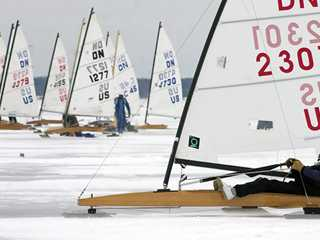 The Seduction of Speed: Iceboating on Lake Geneva