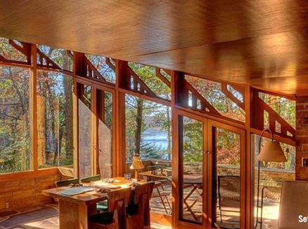 Image for Lofty Lodging: Five Wisconsin Cabins With High Perches