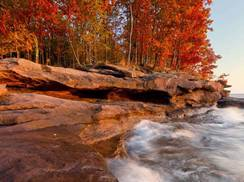 Image for Fall in Wisconsin's Big Bay State Park