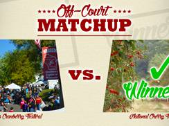 Image for Warrens Cranberry Festival vs. National Cherry Festival