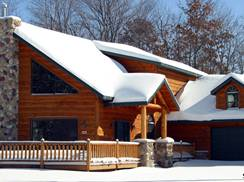 Image for Wintertime Trailside Lodging in Wisconsin