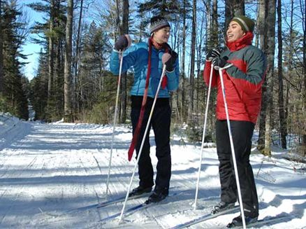 Image for Cure for Cabin Fever: Cross-Country Skiing