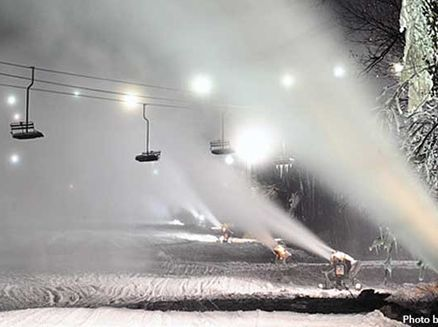Image for Snowmaking Begins at Wisconsin's Ski Resorts