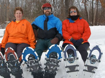 Image for Six Great Places to Snowshoe Wisconsin