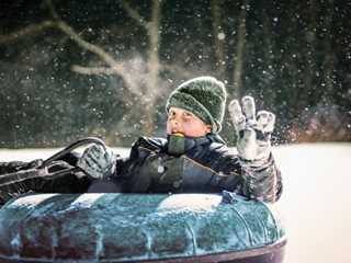 Where to Stay Near Wisconsin's Best Snow Tubing