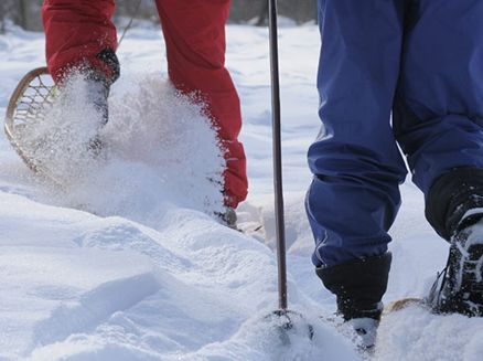 Image for Snowshoeing: Discover Wisconsin's Cultural Footprints