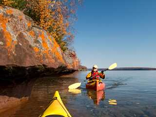 Paddle Through Fall Color on Wisconsin's Scenic Waterways