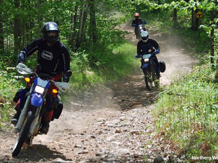 Image for Three Adventure Treks in Wisconsin for Off-Highway Motorcyclists