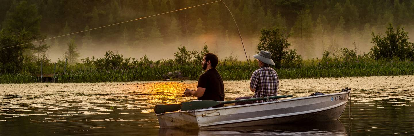Best fishing chetac and birch lakes travel wisconsin for Best fishing in wisconsin