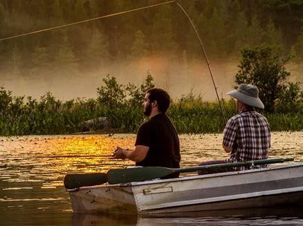 Image for Best Places to Fish in Wisconsin: Chetac and Birch Lakes