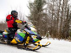 Image for Top Spots for Snowmobiling Near Chicago