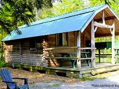 Image for Campground Cabins - Try Your Stay in a Camper Cabin