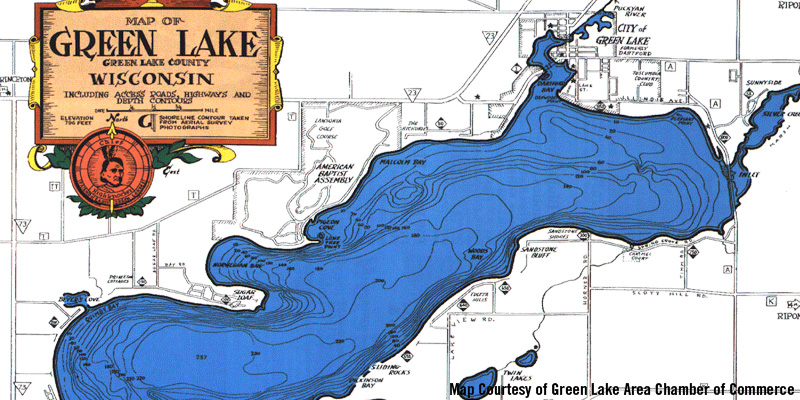 Green Lake Wisconsin Map Best Fishing in WI: Big Green Lake | Travel Wisconsin