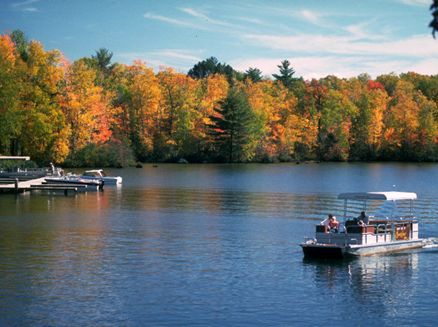Image for Experience Fall Color from a Boat