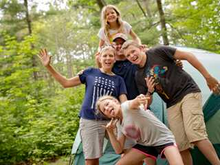 Kid-Friendly Camping in Wisconsin
