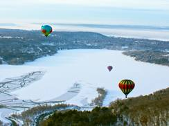 Image for Hudson Hot Air Affair: Winter Ballooning in Wisconsin