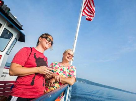 Image for Hop on the Ferry: Hidden Island Getaways in Wisconsin