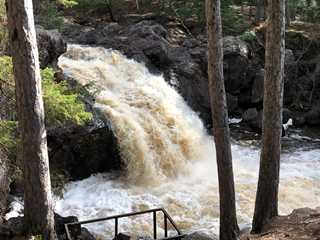 Scenic Spots for Waterfall Camping in Wisconsin