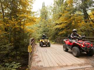 Wisconsin ATV Trails with Scenic Stop-Offs