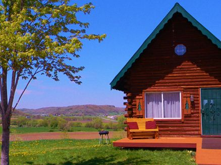 Image for Rustic and Romantic Log Cabin Getaways