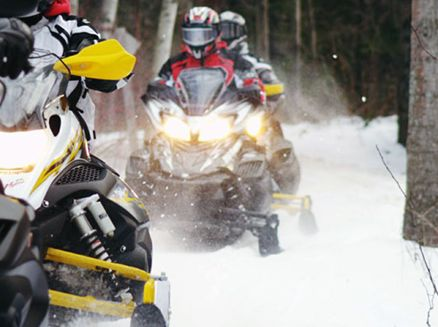 Image for Rev Things Up On Wisconsin Snowmobile Trails