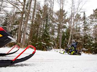 Wisconsin's Longest Snowmobile Trails