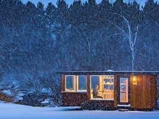 One-Of-A-Kind Winter Lodging in Wisconsin