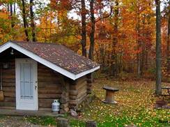 Image for Five Wisconsin Cabins for Hilltop Fall Color Tour Hikers