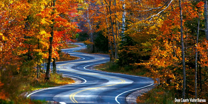 3 Scenic Door County Fall Color Drives Travel Wisconsin