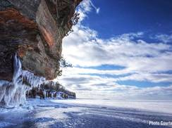 Image for Apostle Islands' Frozen Ice Caves