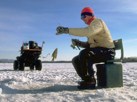 Image for Wisconsin's Hot on Ice Fishing