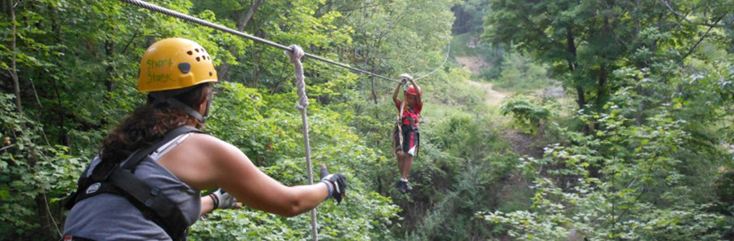 Lake Geneva Canopy Tours.
