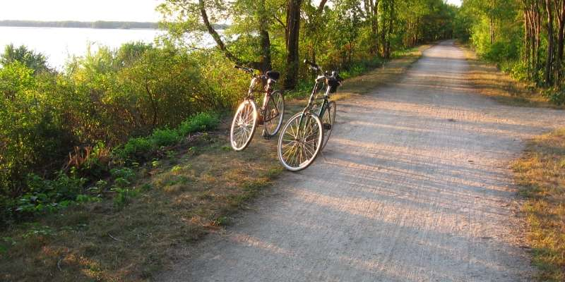 Onalaska is a great place to experience exceptional bike trails.