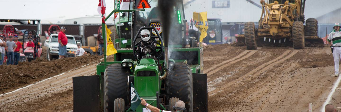 Home to the annual Budweiser Dairyland Super National Truck & Tractor Pull!