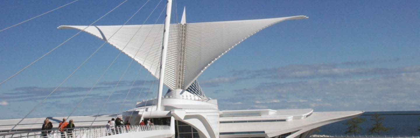 The Milwaukee Art Museum features a permanent collection including nearly 20,000 works from ancient objects to art of the present.