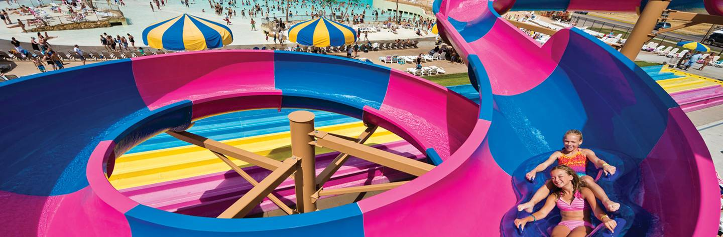 "Wisconsin Dells has been coined ""The Waterpark Capital of the World."""