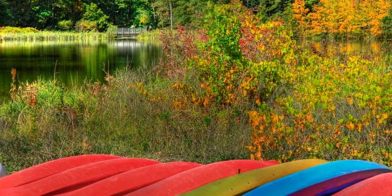 Fall colors at Hartman Creek State Park