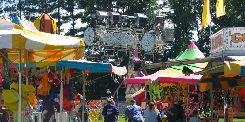 The Juneau County Fair features rides, games and delicious food every summer.