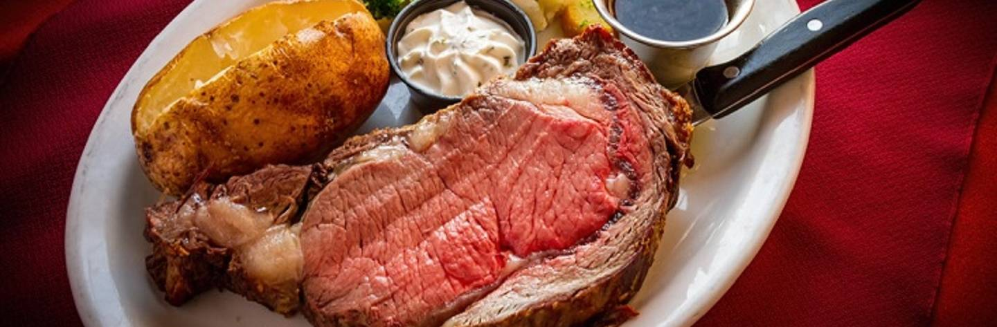 The Capri Steak House Prime Rib