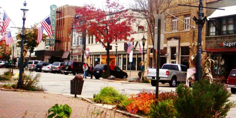 Charming downtown West Bend.