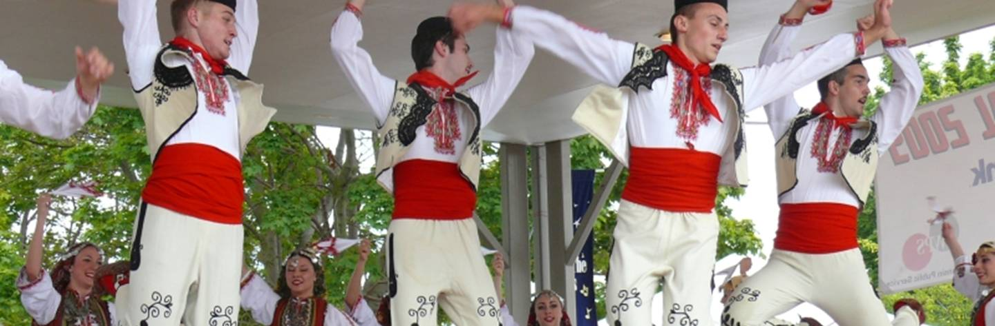 Two Rivers Ethnic Festival offers music and dance, food and vendors selling items from every continent.