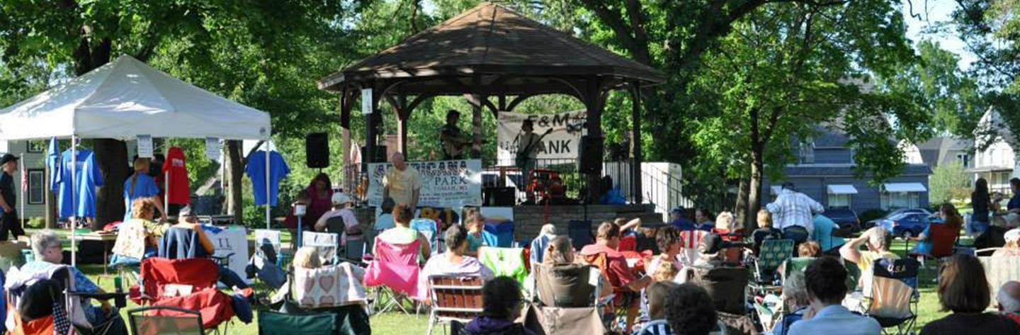 Tomah's Annual Music in the Park is held every other Wednesday in the summer months!