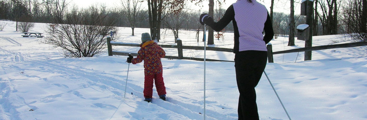 Cross Country Skiing at La Riviere Park