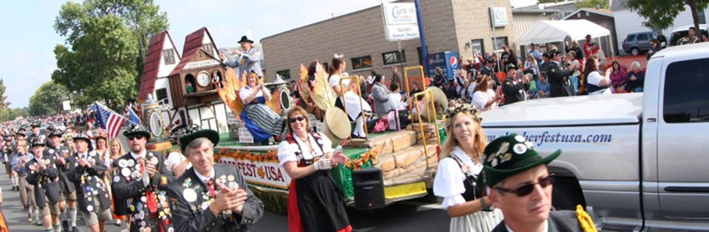 La Crosse's huge Oktoberfest celebration.