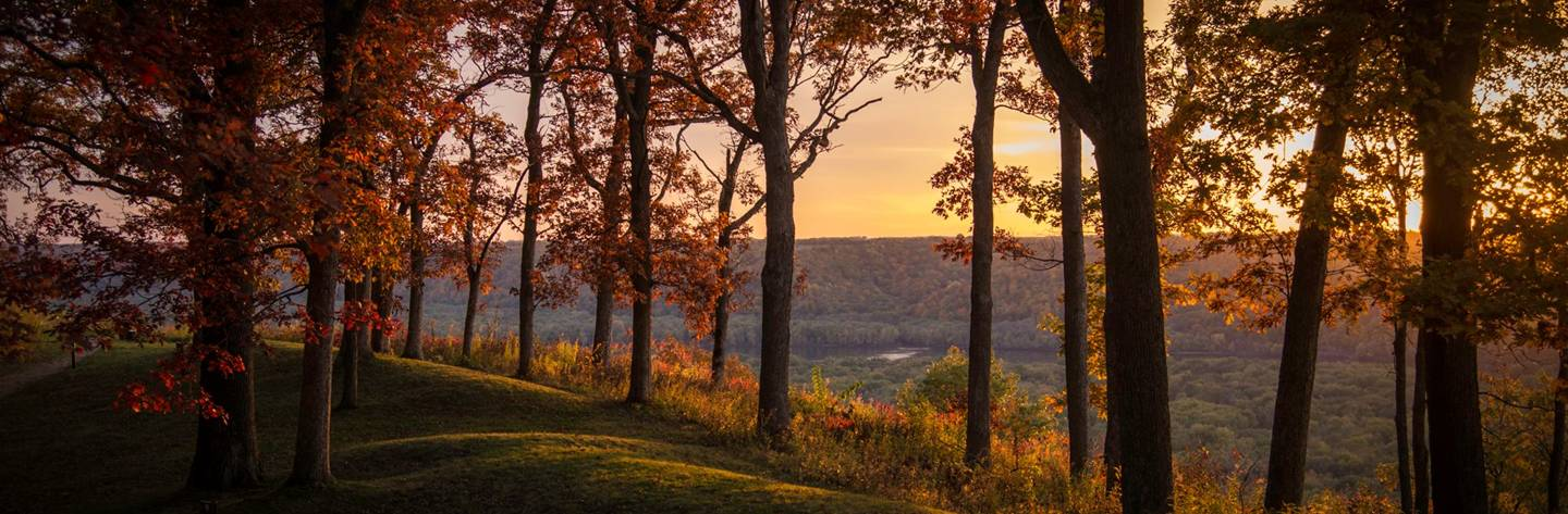 Fall at Wyalusing State Park