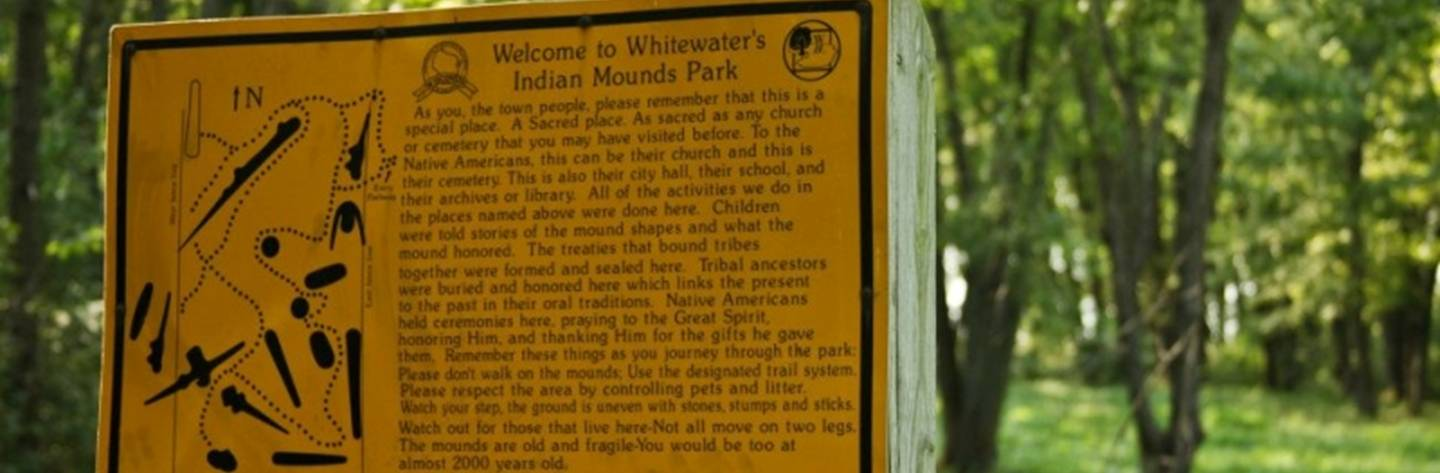 Indian Mounds Park is a prehistoric Native American ceremonial and burial site that dates back to approximately 1000AD.