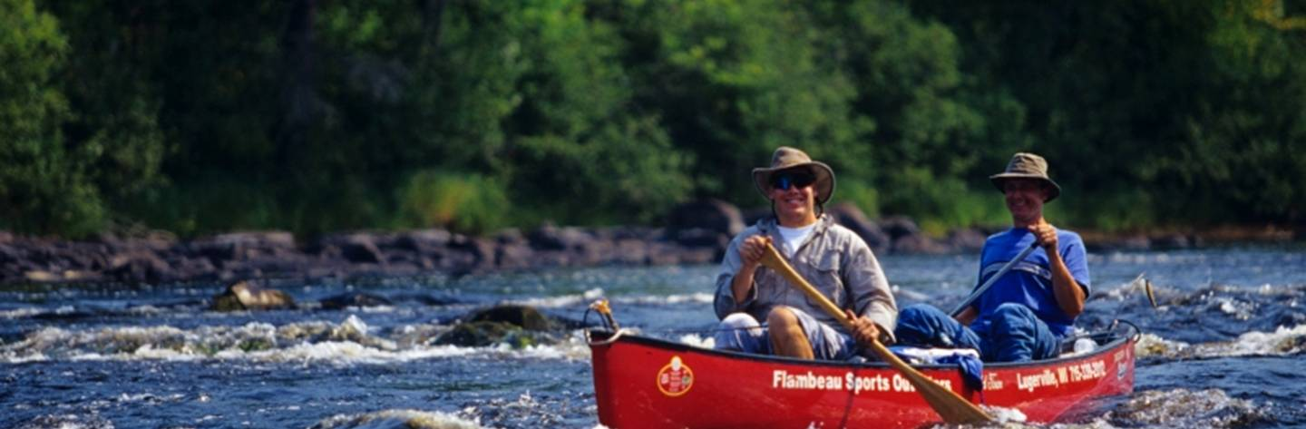 Flambeau Sports Outfitters in Phillips provides canoe & kayak rentals on the North and South forks of the Flambeau River.