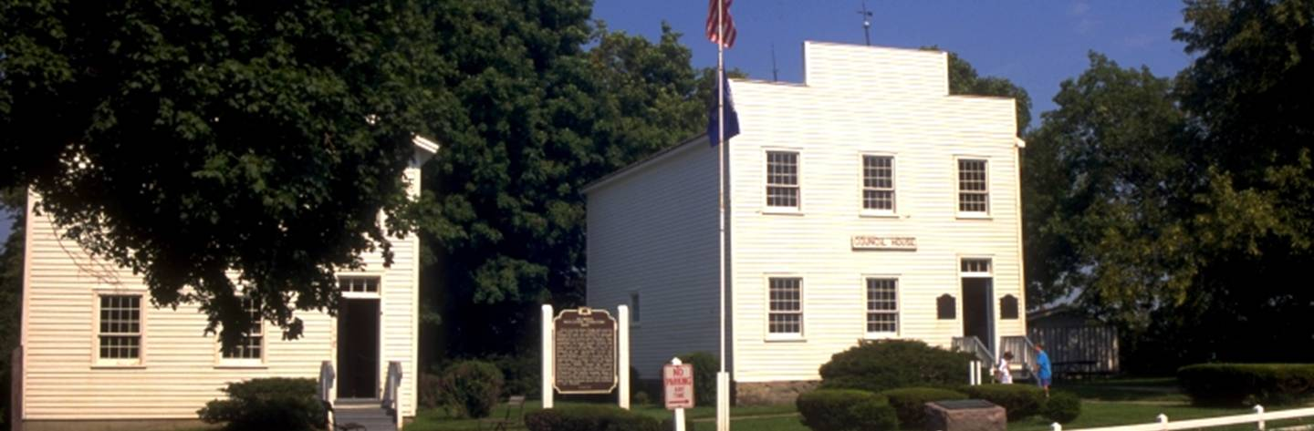 Wisconsin's first Capitol, which is a state historic site, can be found in Belmont.