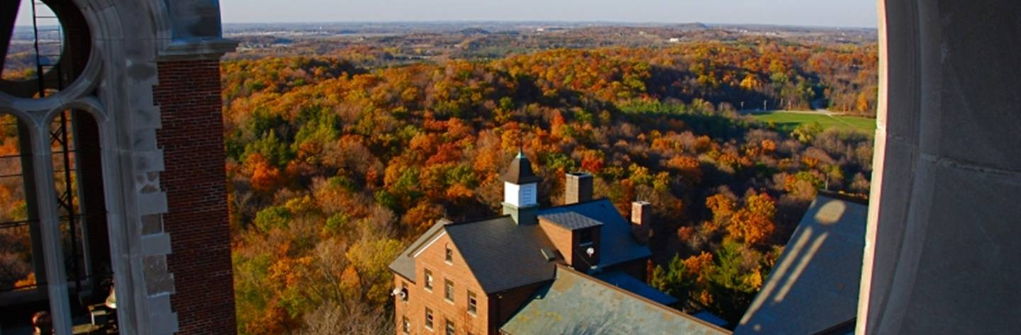 The views from atop Holy Hill in Hubertus are breathtaking!