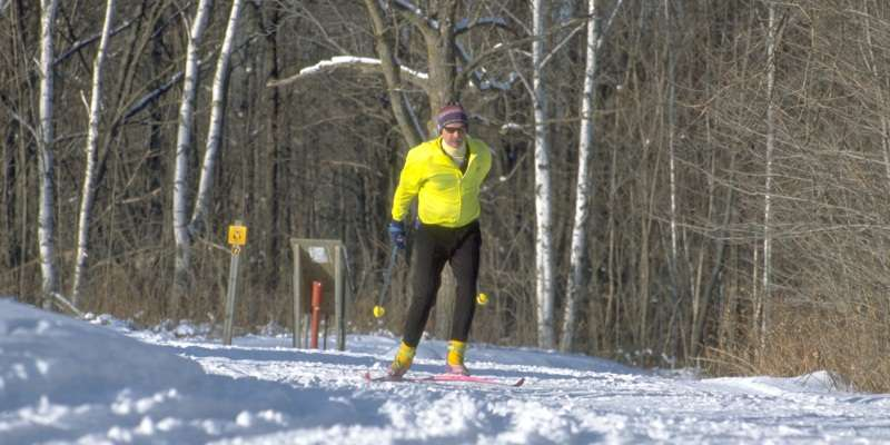 Timberland Hills is located about 9 miles Northwest of Cumberland, WI on County Highway H. This 24 Km trail system situated on 2400 wooded acres of Barron County forest land and is ideally suited for cross country skiing.